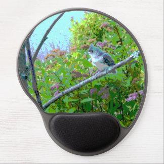 Pájaro de bebé del Titmouse copetudo Alfombrilla Gel