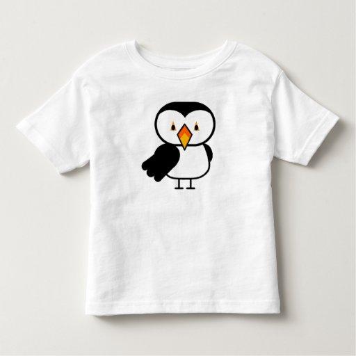 Pájaro de bebé remeras