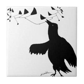 Pájaro de Calder Azulejo Cuadrado Pequeño