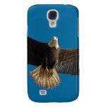 Pájaro de Eagle calvo que vuela del arte de la pre
