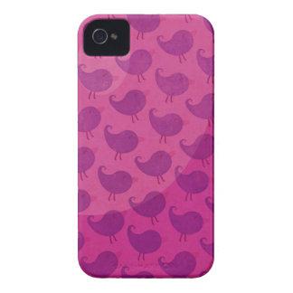 Pájaro de encargo de las cajas de Blackberry iPhone 4 Cárcasas