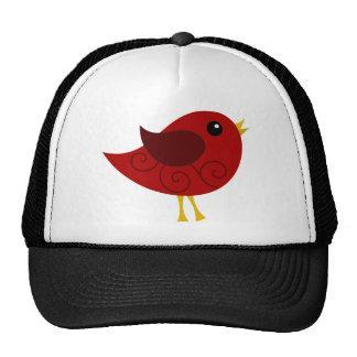 Pájaro de enero Birthstone Gorras
