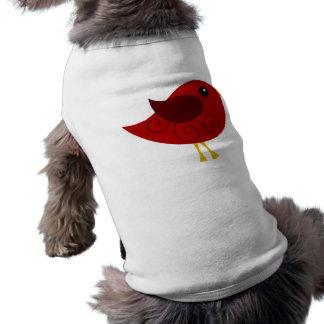 Pájaro de enero Birthstone Ropa De Mascota