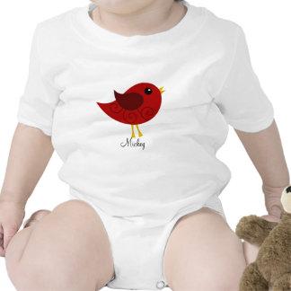 Pájaro de enero Birthstone Trajes De Bebé