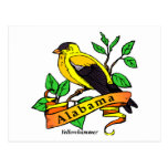 Pájaro de estado de Alabama Postal
