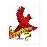 Pájaro de estado de Kentucky Postal