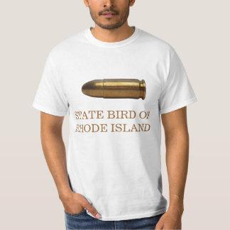 PÁJARO DE ESTADO DE RHODE ISLAND: LA BALA PLAYERA