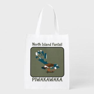 Pájaro de Faintail Nueva Zelanda Bolsa De La Compra