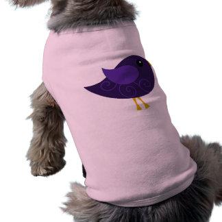 Pájaro de febrero Birthstone Playera Sin Mangas Para Perro