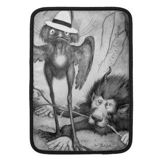 Pájaro de Jubjub y el Bandersnatch Funda MacBook