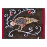 Pájaro de Kaka Tarjetas