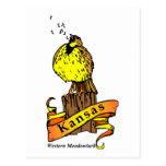 Pájaro de Kansas Postal