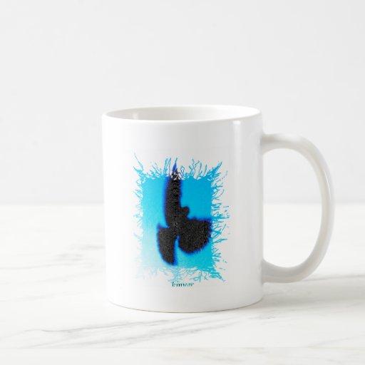 Pájaro de Kiwear Tazas De Café