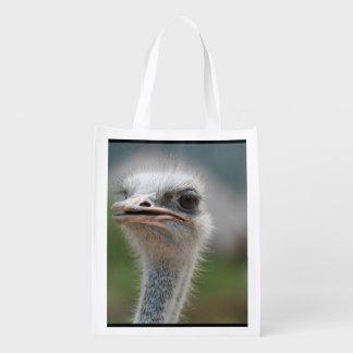 Pájaro de la avestruz bolsa de la compra