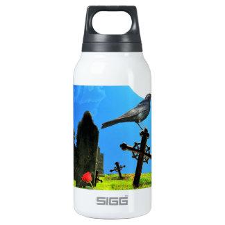 Pájaro de la bendición botella isotérmica de agua
