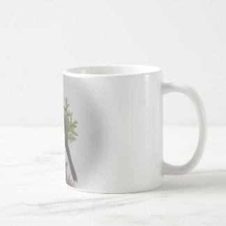 Pájaro de la canción taza de café