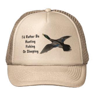Pájaro de la fauna del pato de Drake del pato silv Gorras