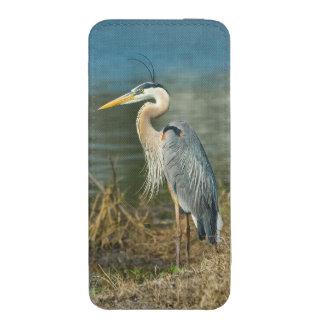 Pájaro de la garza de gran azul funda para iPhone 5