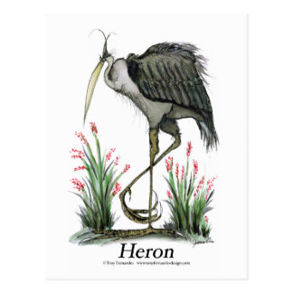 Pájaro de la garza, fernandes tony postal