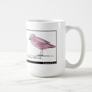 Pájaro de la lila de Edward Lear Taza