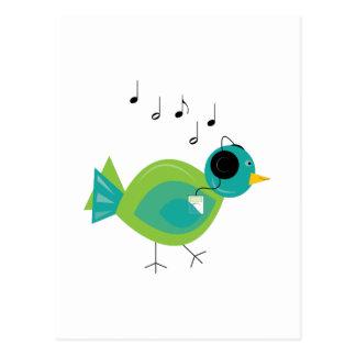 Pájaro de la música postal