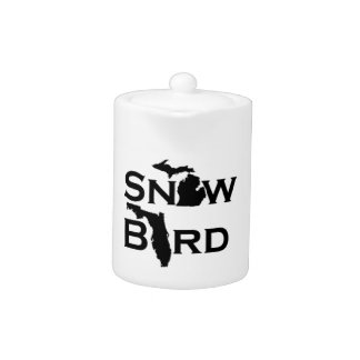 Pájaro de la nieve