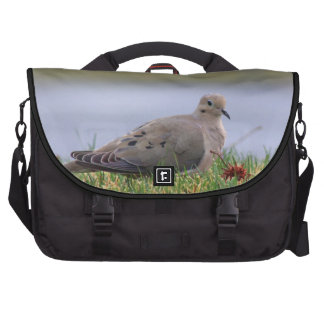 Pájaro de la paloma bolsas de ordenador