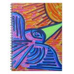 Pájaro de la sol cuaderno