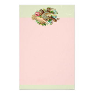 Pájaro de la tarjeta del día de San Valentín del V Papeleria De Diseño