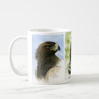 Pájaro de la taza de los amantes de la presa