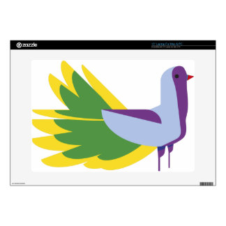 Pájaro de Liky 38,1cm Portátil Calcomanía