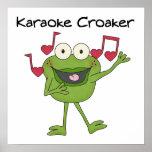 Pájaro de mal agüero del Karaoke Posters