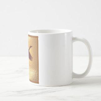 Pájaro de oro - el alto altísimo es mi naturaleza taza de café