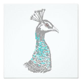 Pájaro de Peahen Comunicado