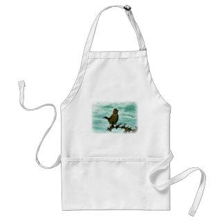 Pájaro de Rockport Delantal