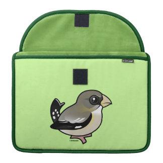 Pájaro de tarde (f) funda macbook pro