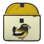Pájaro de tarde funda macbook pro