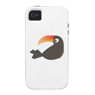 Pájaro de Toucan iPhone 4/4S Funda