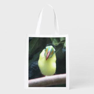 Pájaro de Toucan Bolsas Reutilizables