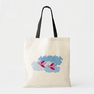 Pájaro de vuelo bolsa