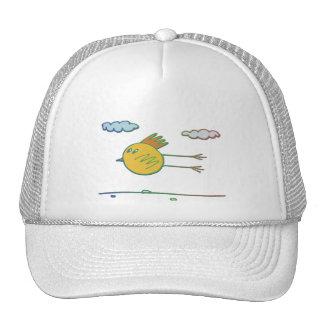 Pájaro de vuelo gorras de camionero