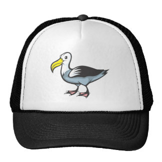 Pájaro del albatros gorras de camionero