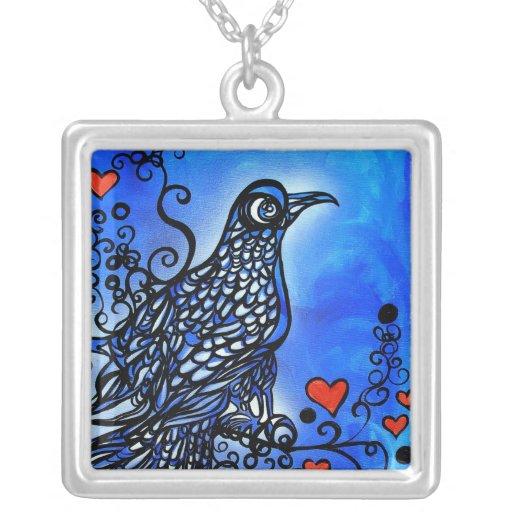Pájaro del amor I Collar Personalizado