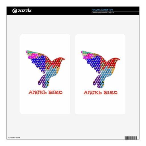 Pájaro del ÁNGEL Kindle Fire Skins
