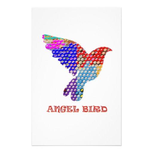 Pájaro del ÁNGEL Papeleria De Diseño