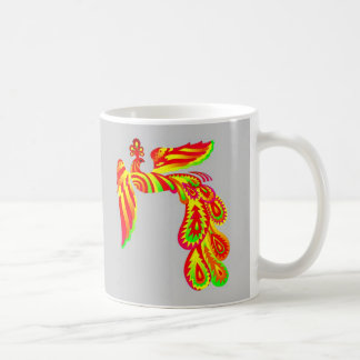 Pájaro del arco iris taza clásica