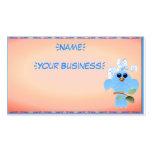 Pájaro del azul de cielo profilecard_business_hori tarjeta de visita