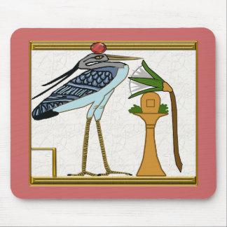 pájaro del bennu alfombrillas de ratón