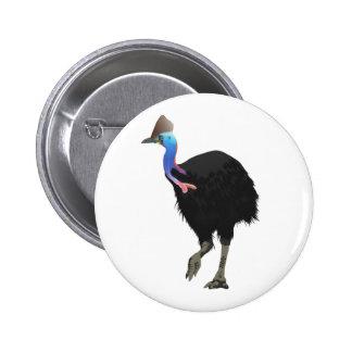 Pájaro del casuario pin