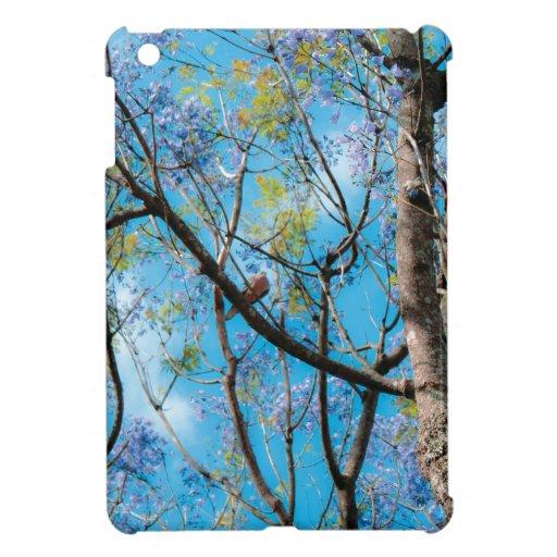 Pájaro del cielo azul de la fotografía de la natur iPad mini cárcasa